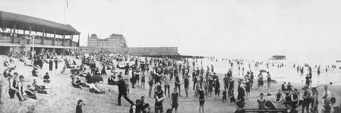 1902: Manhattan Beach (Library of Congress)